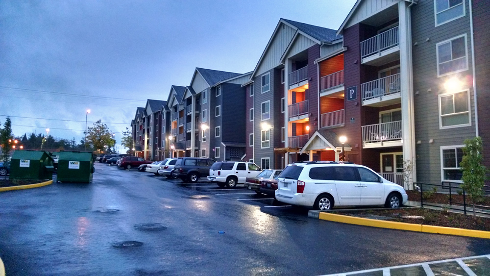 Residential Apartments Vantage Apartments Lynnwood, WA